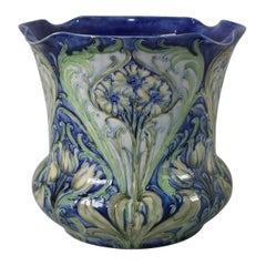 Art Nouveau William Moorcroft Florian Daisy Planter/ Jardinière