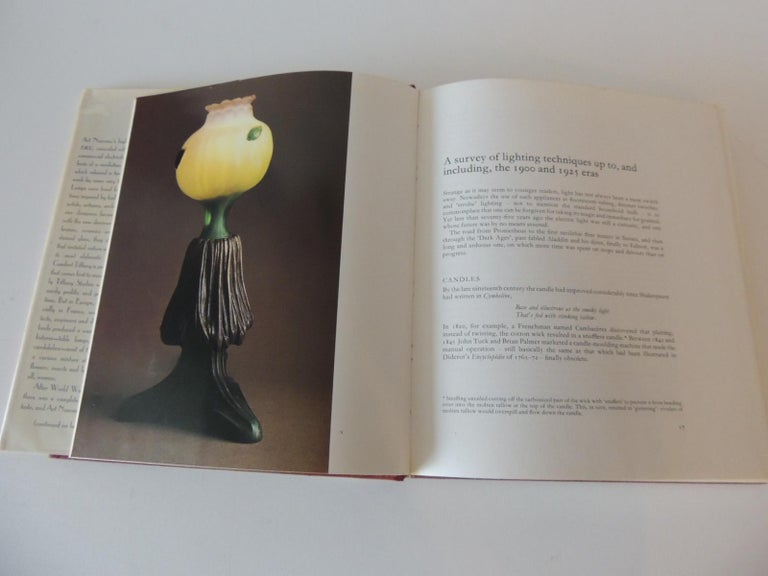 American Art Nouveau and Art Deco Lighting Decorative Book by A. Duncan For Sale