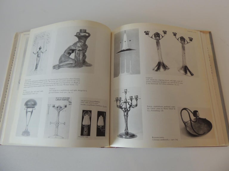 Late 20th Century Art Nouveau and Art Deco Lighting Decorative Book by A. Duncan For Sale