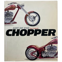 Art of the Chopper by Tom Zimberoff Book