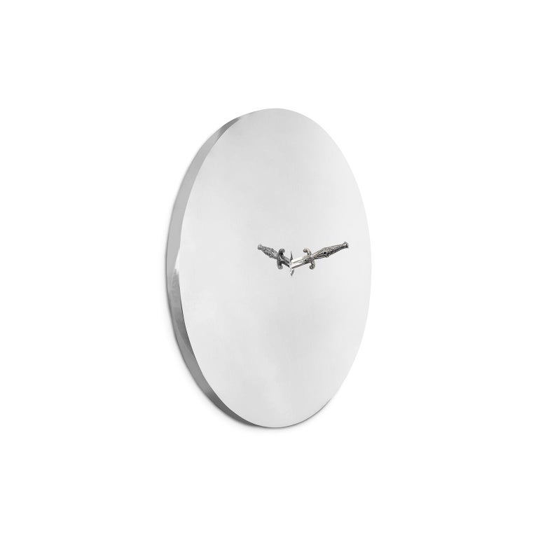 """1. Product description:  The """"Pirate"""" wall mirror is a limited-edition piece with only 10 units being produced. It is obviously a special and rare piece so Bessa goes far and beyond to guarantee the best quality products for this unique piece, each"""