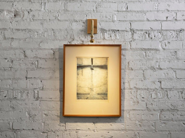 Art Sconce, Handcrafted in Chicago, Designed by Christopher Gentner In New Condition For Sale In Chicago, IL