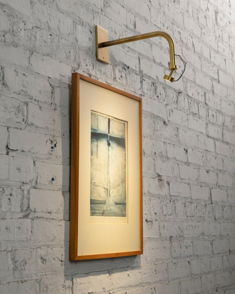 Contemporary Art Sconce, Handcrafted in Chicago, Designed by Christopher Gentner For Sale