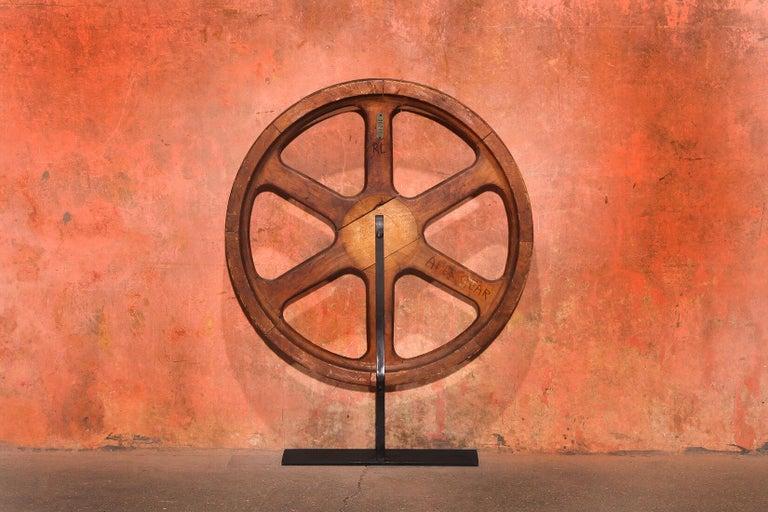 Art Sculpture Wheel by Robert Loughlin '1949 – 2011' For Sale 3