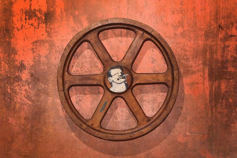 Art Sculpture Wheel by Robert Loughlin '1949 – 2011' For Sale 5