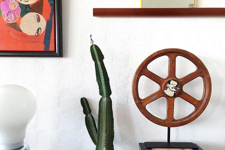 Contemporary Art Sculpture Wheel by Robert Loughlin '1949 – 2011' For Sale