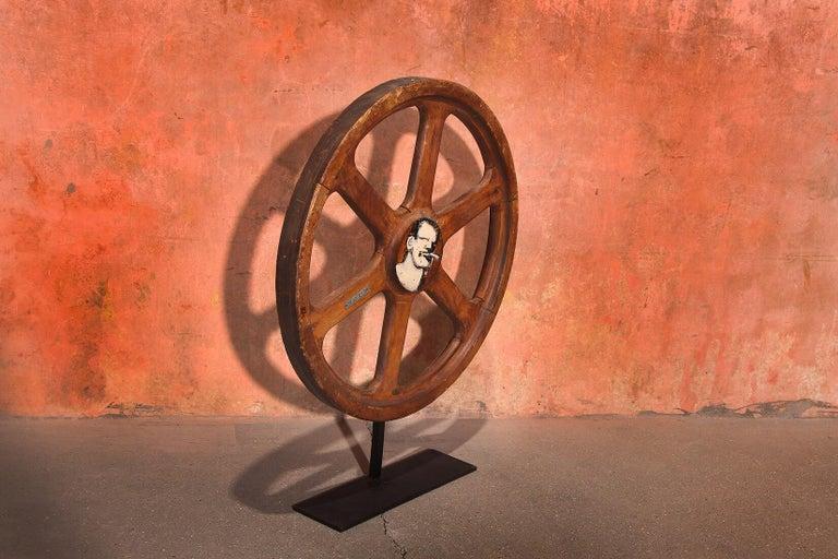 Art Sculpture Wheel by Robert Loughlin '1949 – 2011' For Sale 2