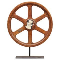 Art Sculpture Wheel by Robert Loughlin '1949 – 2011'