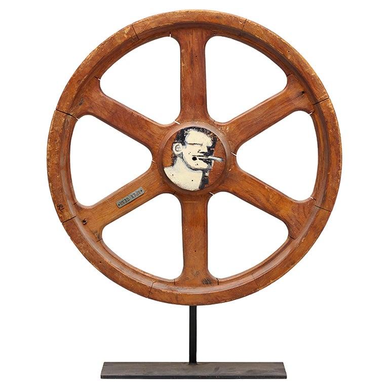 Art Sculpture Wheel by Robert Loughlin '1949 – 2011' For Sale