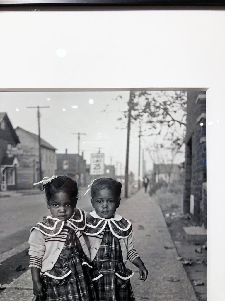 Brooklyn, Illinois, Twins, 1952 - For Ebony Magazine in Lovejoy AKA Brooklyn, IL For Sale 5