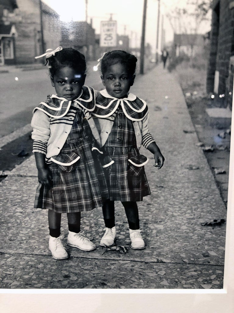 Brooklyn, Illinois, Twins, 1952 - For Ebony Magazine in Lovejoy AKA Brooklyn, IL For Sale 6
