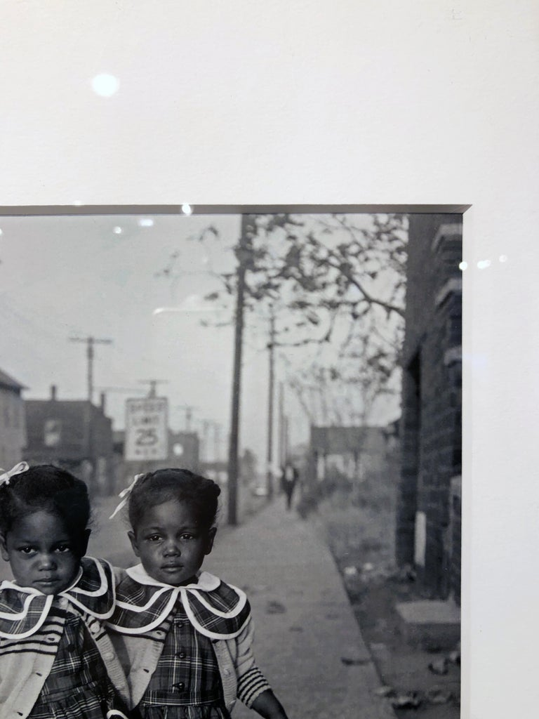 Brooklyn, Illinois, Twins, 1952 - For Ebony Magazine in Lovejoy AKA Brooklyn, IL For Sale 7