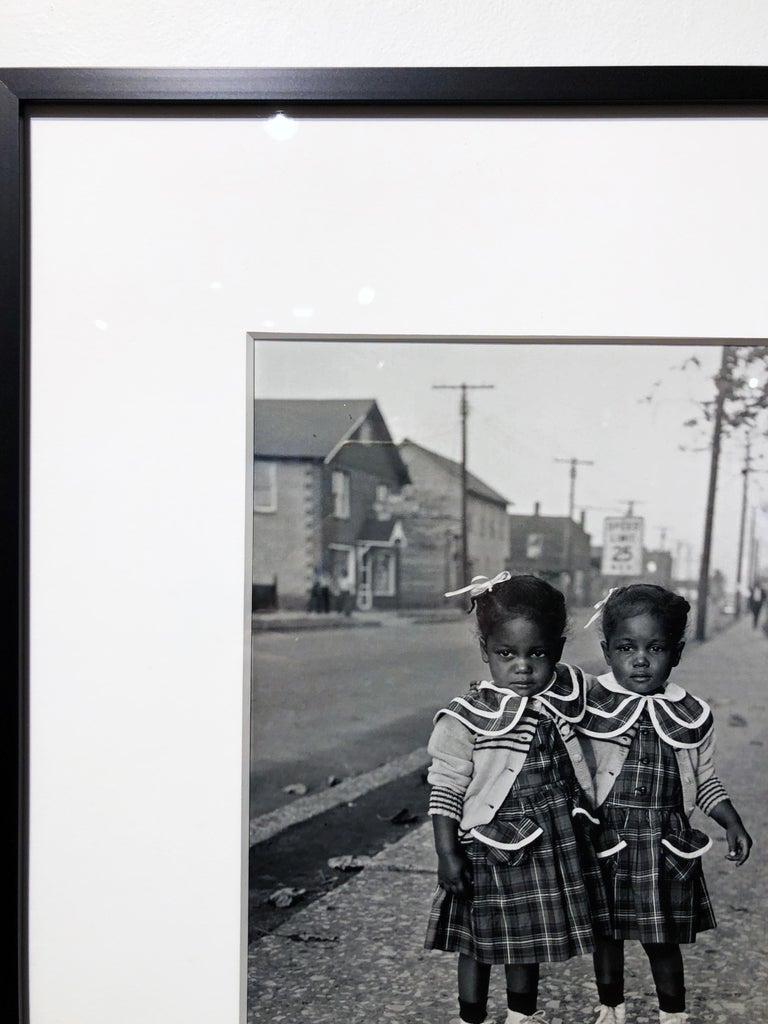 Brooklyn, Illinois, Twins, 1952 - For Ebony Magazine in Lovejoy AKA Brooklyn, IL For Sale 3