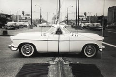 Car Reflection, 1958, Black and White Photograph Appeared in LIFE Magazine