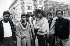 Chicago Gang Members, Chicago, 1968, Archival Pigment Print