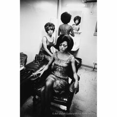 Diana Ross & The Supremes, Supremely Tired, Detroit 1965, Black and White Photo