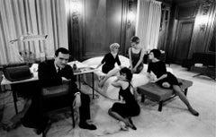 Heffner in Bedroom Office, Chicago 1961