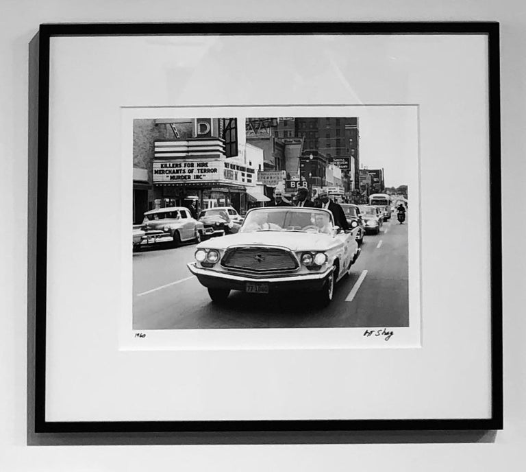 Killers For Hire, JFK, South Dakota 1960, Black and White Photograph by Art Shay For Sale 1