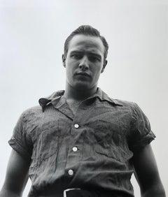Marlon Brando, Libertyville, Illinois, 1950 - Silver Gelatin Print
