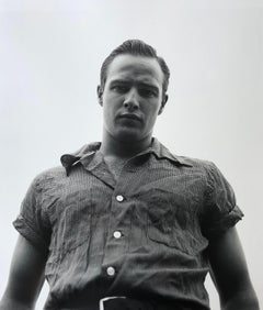 Marlon Brando, Libertyville, Illinois, 1950 - Black and White Photograph