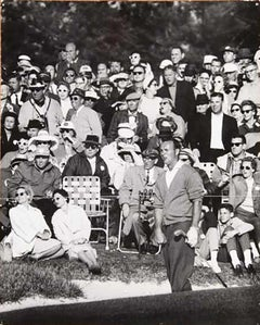 Palmer Ready to Win His 2nd Masters, Augusta, Georgia 1960, Vintage Photograph
