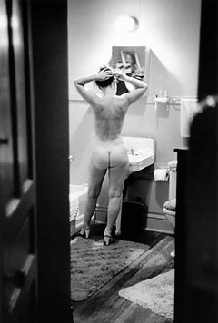 Simone de Beauvior, Nude Photograph, 1950, Signed, Art Shay