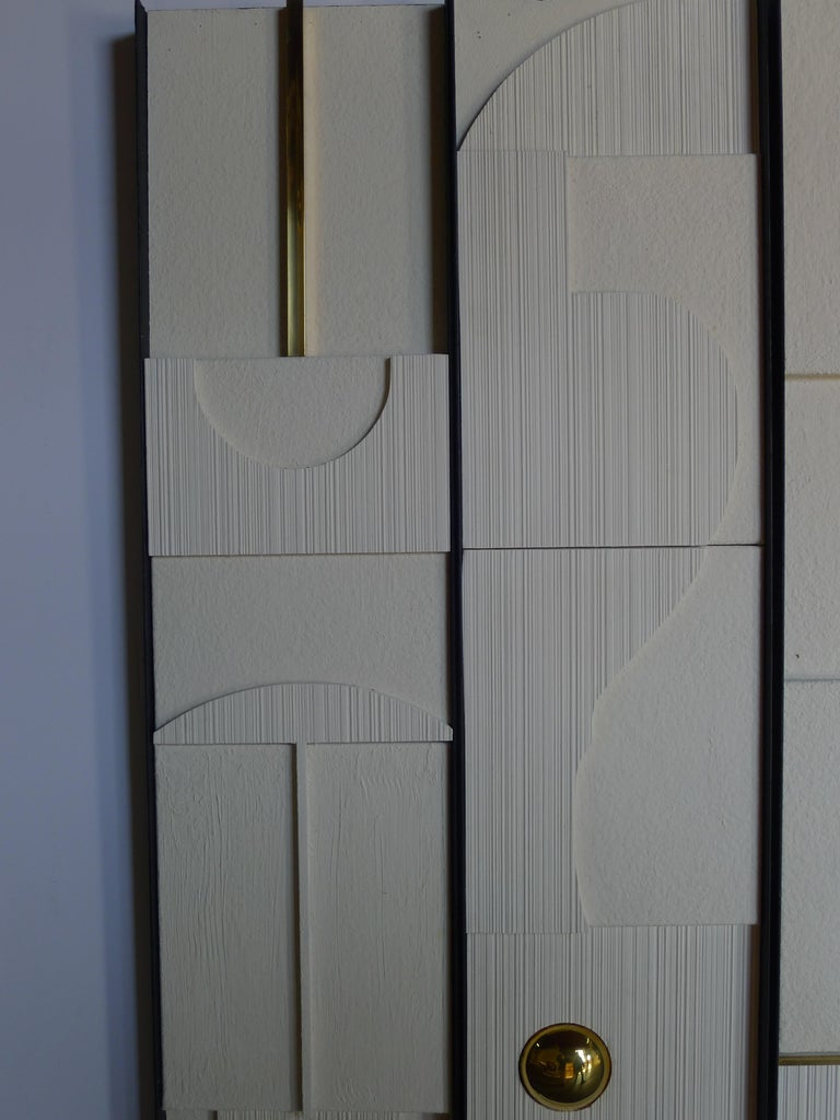 Modern Art Frieze Wall Panels by Paul Marra For Sale