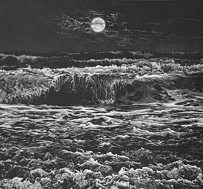 Rising Tide - Contemporary Print by Art Werger