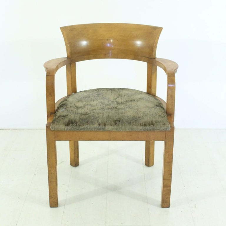 Art Deco Armchair, circa 1930 For Sale at 1stdibs
