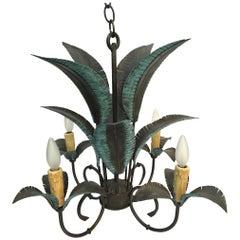 Arte de Mexico Palm Tree Chandelier