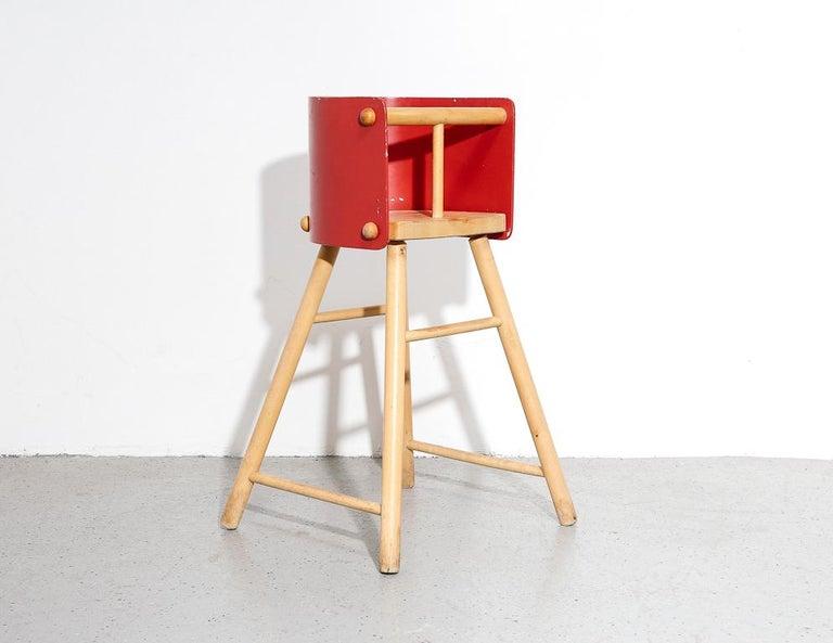 Mid-Century Modern Artek '616' High Chair For Sale