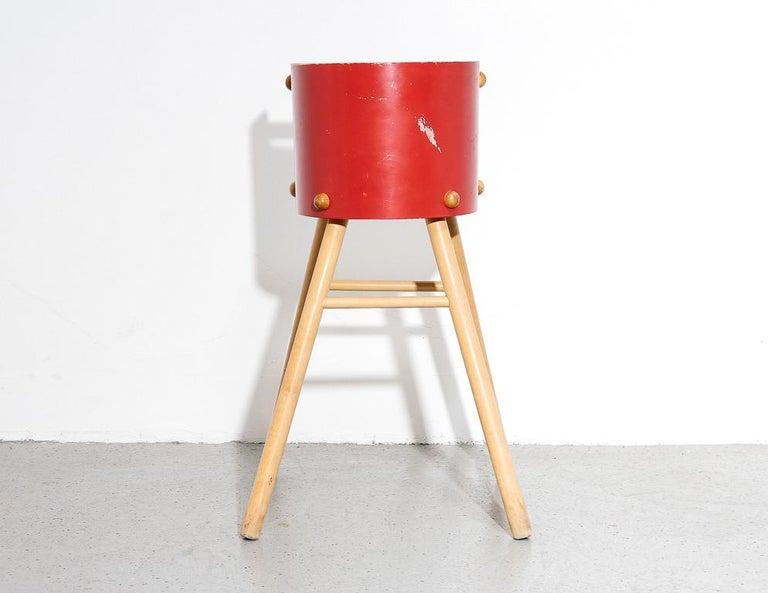 Birch Artek '616' High Chair For Sale