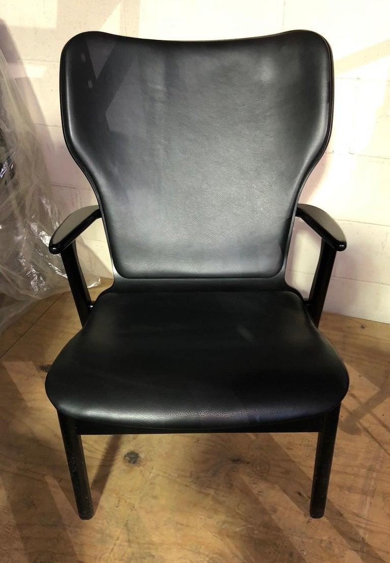 Artek Black Domus Lounge Chair 3