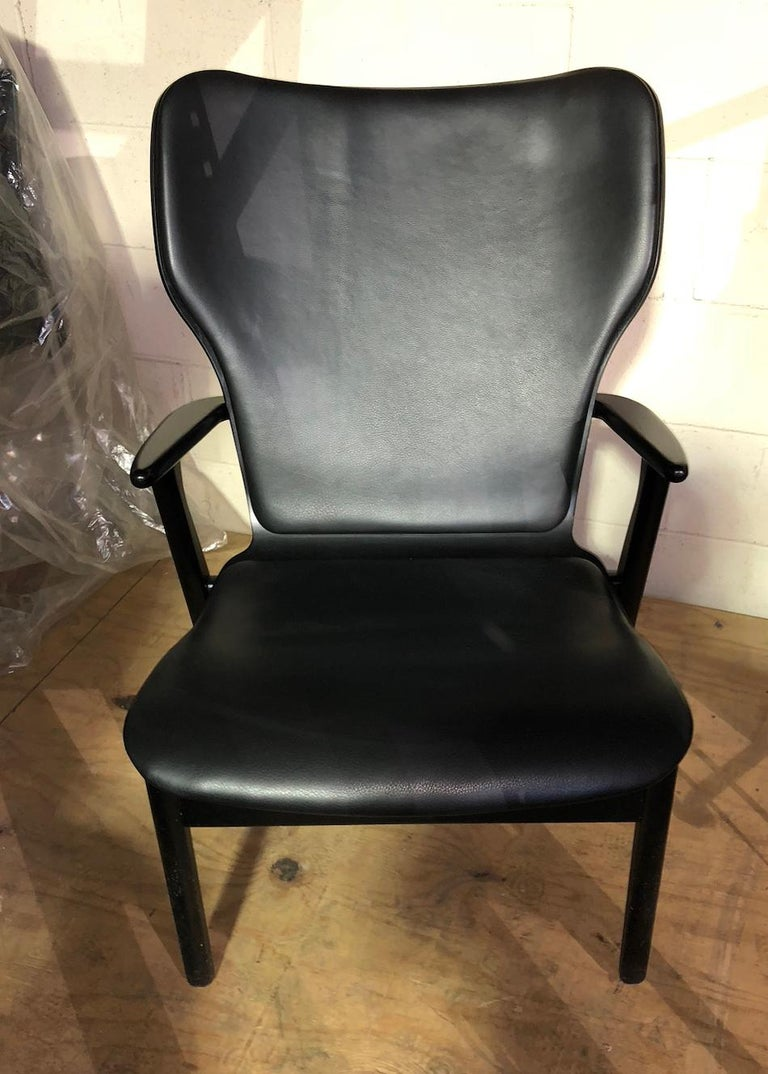 Artek Black Domus Lounge Chair 4