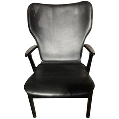 Artek Black Domus Lounge Chair