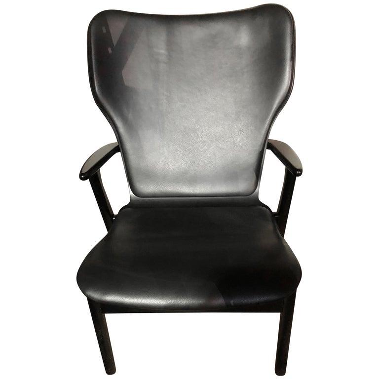 Artek Black Domus Lounge Chair 1