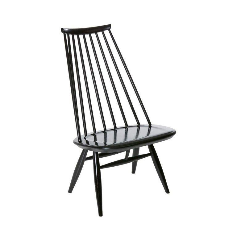 Artek Black Mademoiselle Lounge Chair In Excellent Condition For Sale In New York, NY