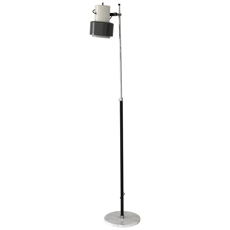 Arteluce Floor Lamp in Grey and White For Sale