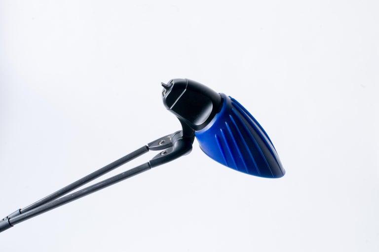 Steel Arteluce Tango Stephan Copeland Lamp 1980s Style Postmodern  For Sale