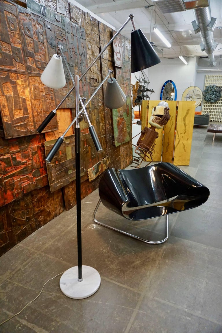 Italian Arteluce Triennale Floor Lamp For Sale