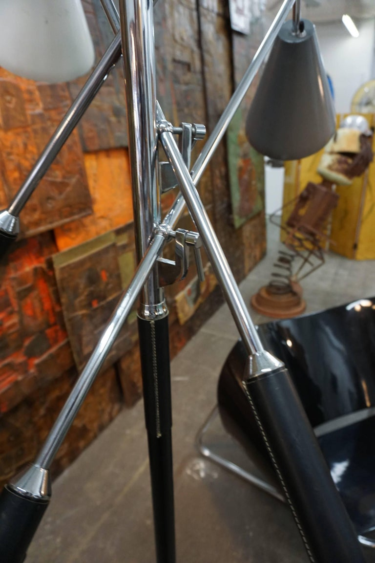 Arteluce Triennale Floor Lamp In Excellent Condition For Sale In Cathedral City, CA