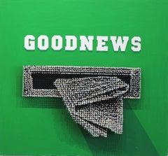 Good News - Original 3-Dimensional Screw Art
