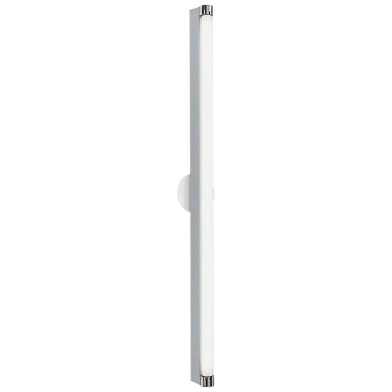 Artemide Basic Strip 48 Wall and Ceiling Light in Aluminum For Sale