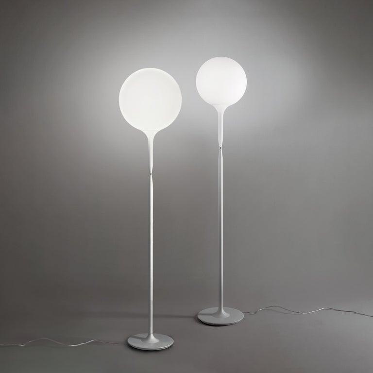 Modern Artemide Castore 42 Floor Lamp in White For Sale