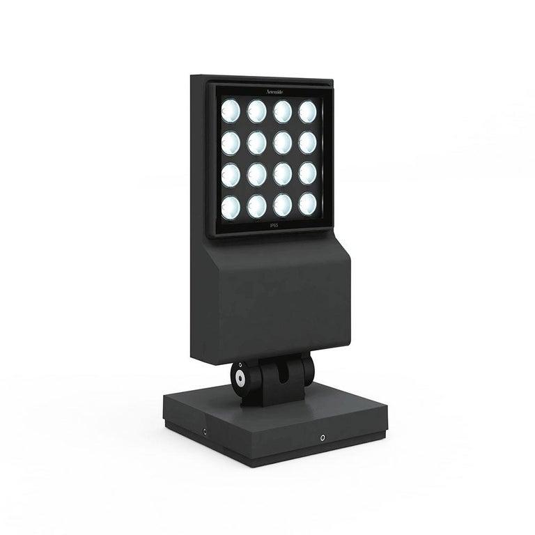 Modern Artemide Cefiso 14 Projector in Dark Gray by Alessandro Pedretti For Sale