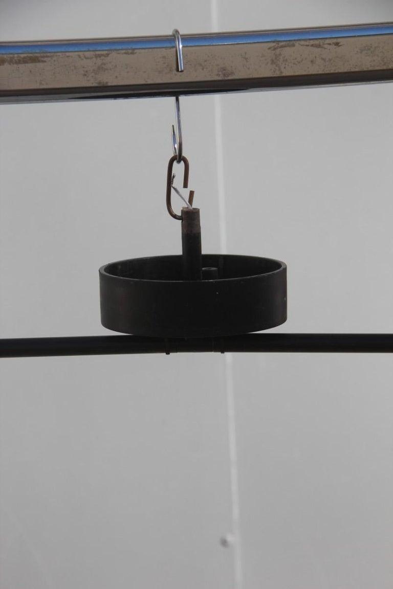 Late 20th Century Artemide Ceiling Lamp Zafiro Italian Sculptural Design, Mario Botta, 1980 For Sale