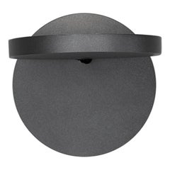 Artemide Demetra LED 27K Wall Spot Lamp in Anthracite Gray without Switch