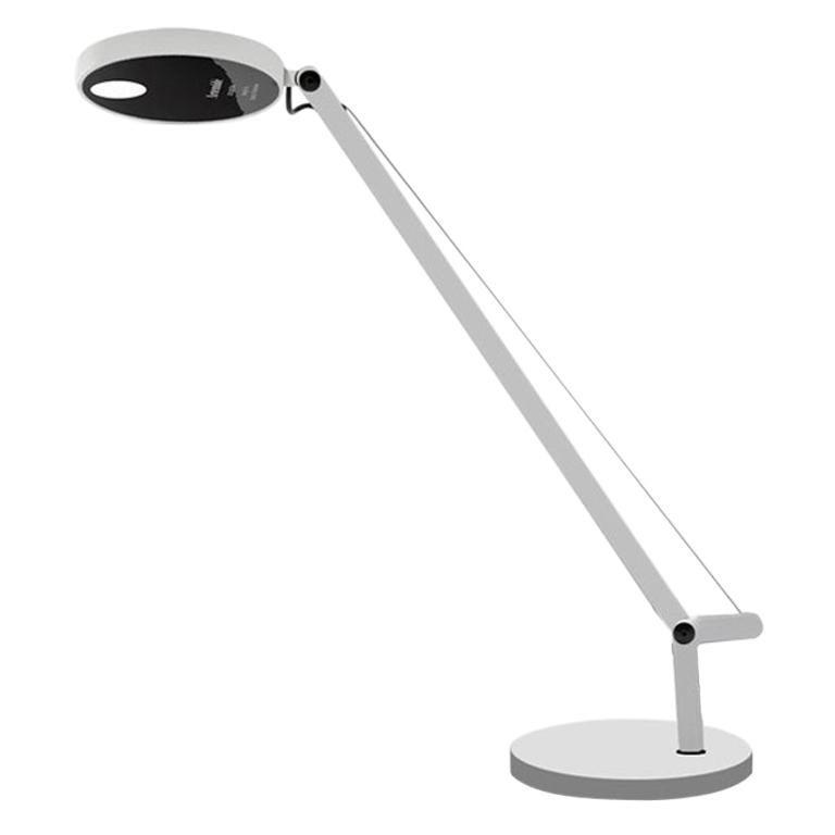 Artemide Demetra Micro LED 7W 27K Table Lamp in White by Naoto Fukasawa