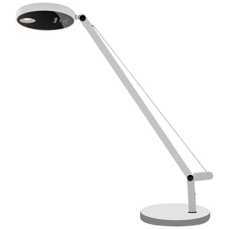 Artemide Demetra Micro LED Table Lamp in White by Naoto Fukasawa