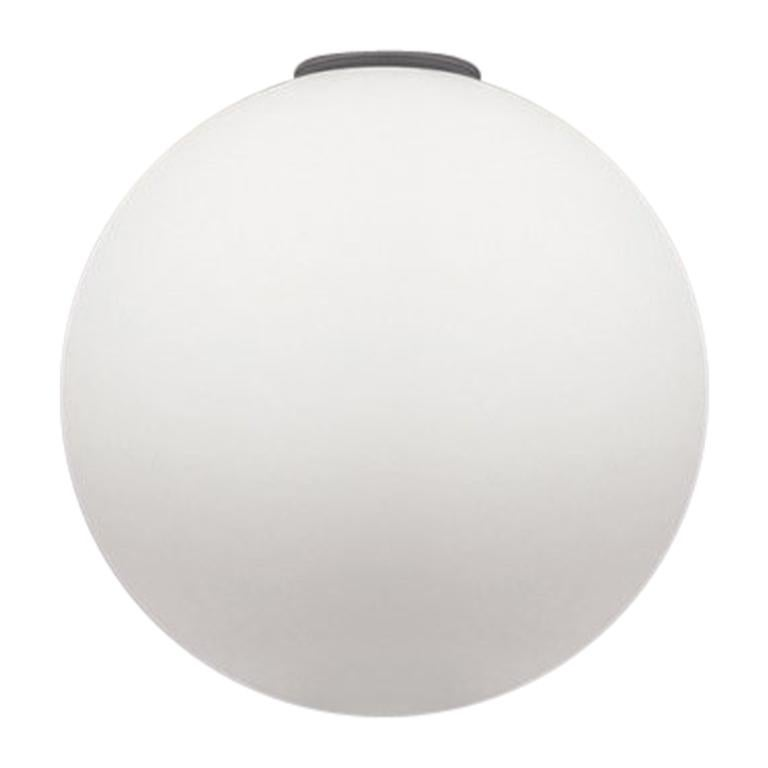 Artemide Dioscuri 25 E26 Wall and Ceiling Lamp in White by Michele De Lucchi